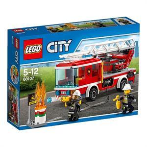 Lego City Camión de bomberos con escalera 60107