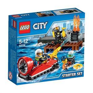 Lego City Set introducción bomberos 60106