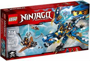 Lego Ninjago Dragón elemental de Jay 70602