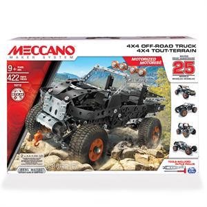 Meccano 25 modelos  4x4 Truck Bizak 9179