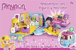 Pin Y Pon ambulancia de mascotas Famosa 712751