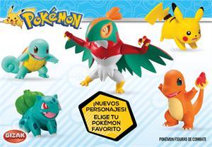 Pokemon figuras de combate Bizak 8445