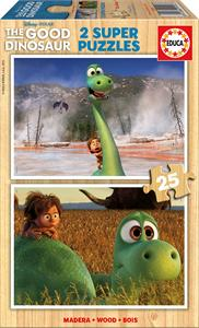 Puzzle madera the good dinosaur 2x25 Educa 15916