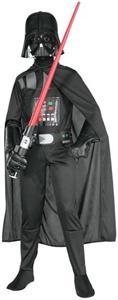 Star Wars disfraz infantil Darth Vader Talla-L 8-10 años Rubies 882009L (DISPONIBLE SOLO EN TIENDA)