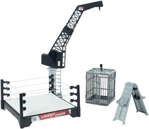 WWF superjaula de combate luchadores Mattel 29DNV