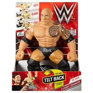WWF The Rock luchador de combate con 8 sonidos y frases Mattel DPN19