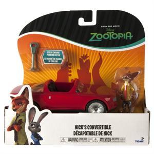 Zootropolis vehiculo descapotable de Nick Bizak 902-2