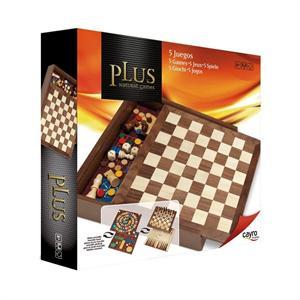 5 Juegos madera plus con accesorios Cayro 1615
