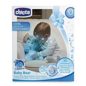Baby Bear peluche proyector musical azul Chicco 80152