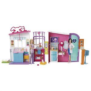 Barbie Clinica de Mascotas Mattel 36FBR