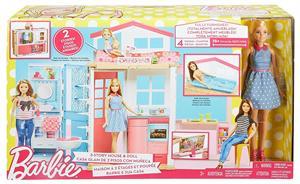 Barbie muñeca y su casa Mattel 48DW