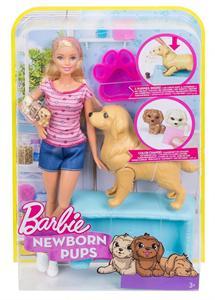 Barbie y su Perrita Embarazada con Cachorros Mattel 43FDD