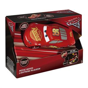 Cars 3 Coche Rayo Mcqueen Rápido y Parlanchin Mattel 58FGN