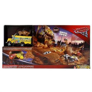 Cars 3 Pista Choques Locos Mattel 95DXY