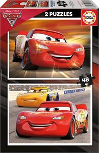 Cars 3 Puzzle 2x48 piezas Educa 17177