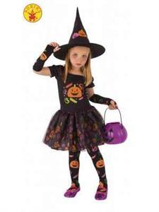 Disfraz Bruja Candy infantil Talla-M 5 a 7 años (Solo Venta en Tienda) Rubie´s 8349-M