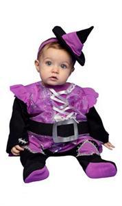 Disfraz Brujita Violeta Bebé Talla 7 a 12 meses (Solo Venta en Tienda) Egler 00001