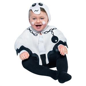 Disfraz Fantasmita Talla 1 a 2 años (Solo Venta en Tienda) Egler 05181