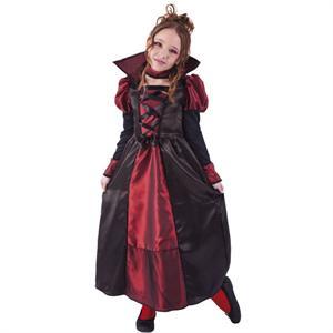 Disfraz Miss Drakula Talla-M 5 a 7 años (Solo Venta en Tienda) Rubie's 8415-M