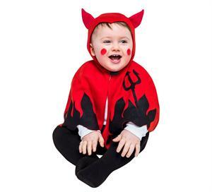 Disfraz pequeño Demonio Talla 1 a 2 (Solo Venta en Tienda) años Egler 05221