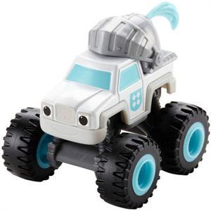 Fisher Price Blaze Monster Machines Camión caballero medieval Mattel DPL39