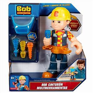 Fisher Price Bob el Constructor con cinturón herramientas Mattel 84FHF
