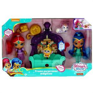 Fisher Price Shimmer y Shine Trono Sorpresas Mágicas Mattel 39FFN