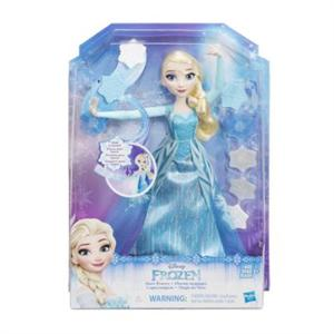 Frozen muñeca Elsa Copos Magicos con capa Hasbro 9204B