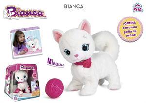 Gatita Bianca Interactiva IMC 95847