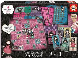 Gorjuss Set Especial juegos 8 en 1 Educa 17291