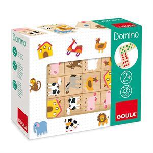 Goula Domino Madera Granja Diset  50267