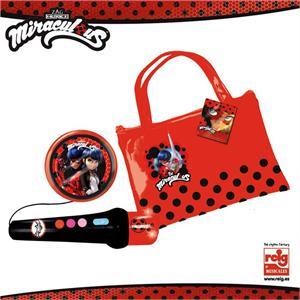 Ladybug microfono de mano con amplificador y bolso Reig 2677
