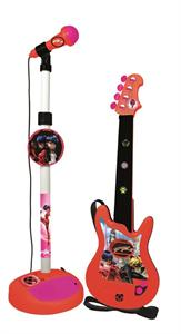 Ladybug Microfono de pie con amplificador y guitarra Reig 2675
