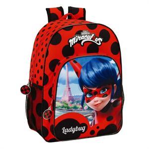 Ladybug mochila adaptable carro Safta 611702180