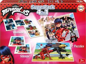 Ladybug Super Pack 4 en 1 Educa 17259