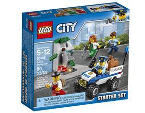 Lego city Set introducción de policía 60136