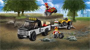 Lego City Todoterreno del equipo de carreras 60148