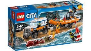 Lego City Unidad de Rescate 4x4 60165