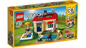 Lego Creator casa con Piscina 31067