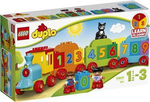Lego Duplo El tren de los números 10847