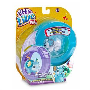 Little Live Pets Ratón con rueda divertida Famosa 713198