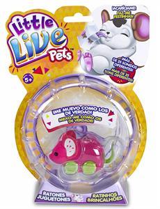 Little Live Pets Ratones juguetones Famosa 713199 MODELOS SURTIDOS- PRECIO UNIDAD, SE SERVIRÁN SEGÚN DISPONIBILIDAD