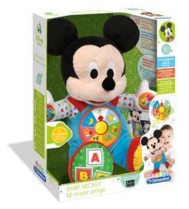 Peluche Interactivo Baby  Mickey mi mejor amigo Clementoni 55132