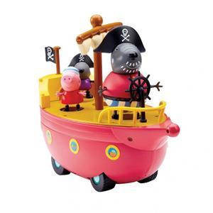 Peppa Pig Barco pirata del abuelo Dog Bandai 6151