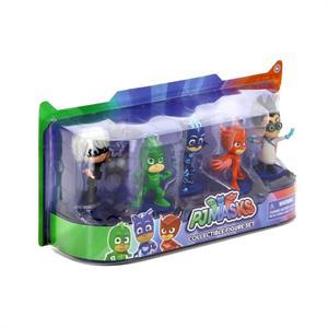 PJMASKS Pack de 5 figuras 7 CM Bandai 24580