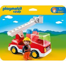 Playmobil 1.2.3 Camión de Bombero 6967