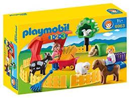 Playmobil 1.2.3 Recinto de mascotas 6963