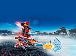Playmobil Androide de fuego con lanzador Action 6835