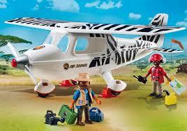 Playmobil Avión Safari Wild Life 6938