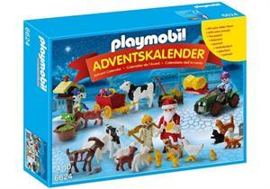 Playmobil Calendario de Navidad En La Granja 6624